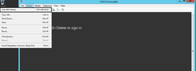 16_LCS_Cloud_Tool_Locally_Environment_VM_Login