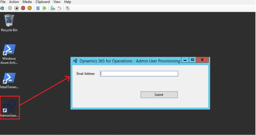 Virtual Machine(VM) setup to access Dynamics 365 for